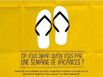 """Vos 1ers Congés Tout Payés"" Contest | Signed DAM, Damlong Chantha"